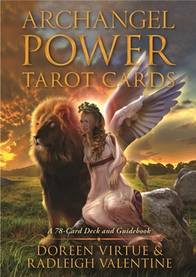 Image of   Archangel Power Tarot Cards m/engelsk brugervejl - Doreen Virtue
