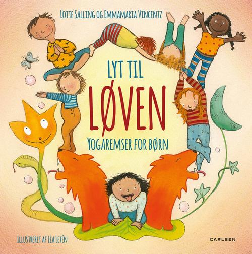 N/A Lyt til løven - yogaremser for børn på bog & mystik