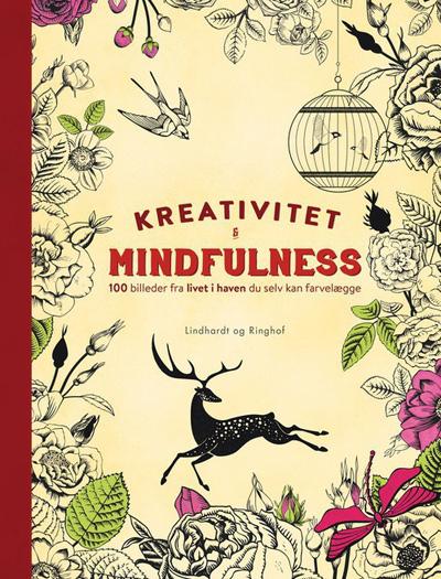 N/A Kreativitet og mindfulness - 100 billeder fra livet i haven du selv kan farvelægge fra bog & mystik