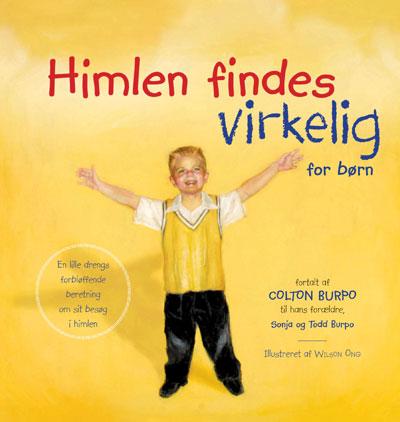 N/A Himlen findes virkelig - for børn på bog & mystik