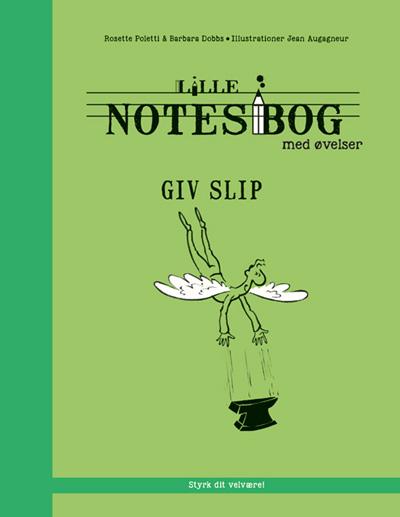 N/A – Lille notesbog med øvelser - giv slip fra bog & mystik