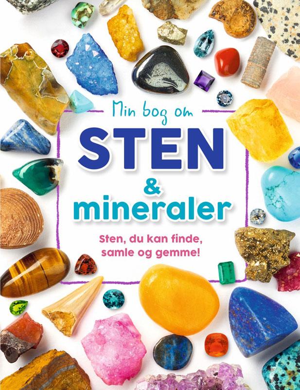 Image of   Min bog om sten og mineraler
