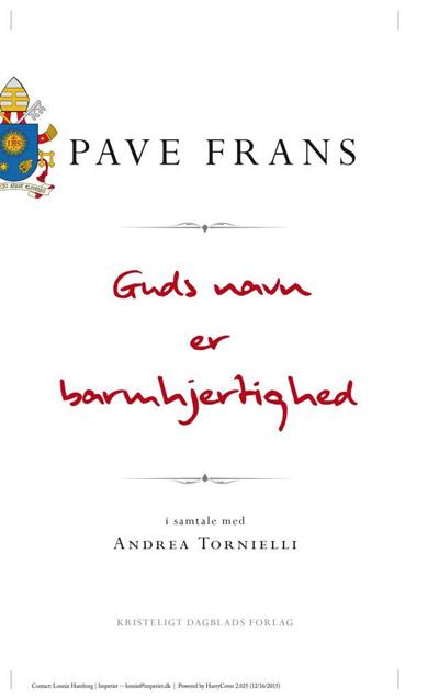 Image of   Guds navn er barmhjertighed
