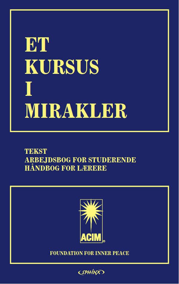 Image of   Et kursus i mirakler