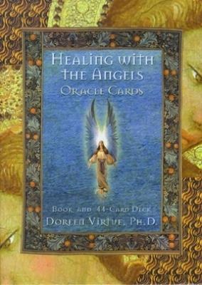 N/A Englekort - healing with the angels oracle cards m/engelsk brugervejl. doreen virtue fra bog & mystik