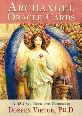 N/A – Englekort - archangel oracle cards - m/engelsk brugervejl fra bog & mystik