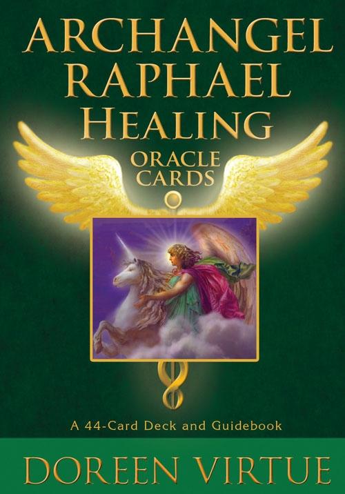 N/A ærkeenglen raphael oracle cards m/engelsk brugervejl - doreen virtue på bog & mystik