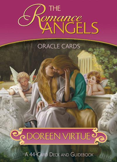 The romance angels oracle cards - m/engelsk brugervejl - doreen virtue fra N/A på bog & mystik