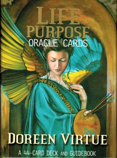 N/A Life purpose oracle cards - doreen virtue ph.d. - m/engelsk vejledning på bog & mystik