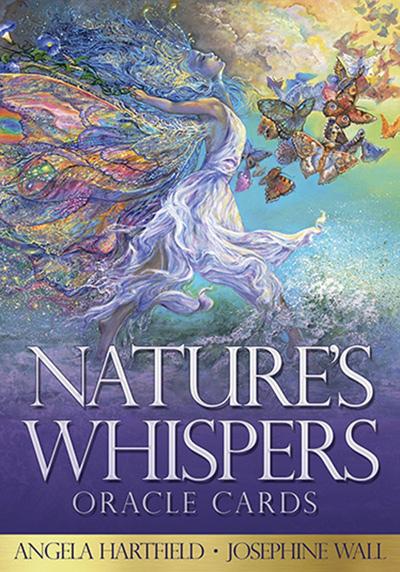 Natures whispers oracle sæt m/dansk brugervejl fra N/A fra bog & mystik