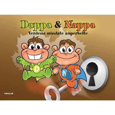 Dappa & nappa fra N/A på bog & mystik