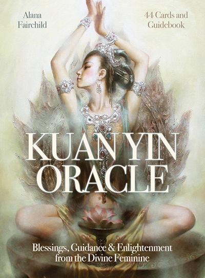 N/A Kuan yin oracle sæt - med dansk brugervejl på bog & mystik