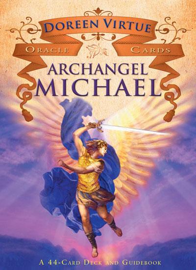 ærkeenglen michael - oracle cards - m/engelsk brugervejl - doreen virtue fra N/A fra bog & mystik