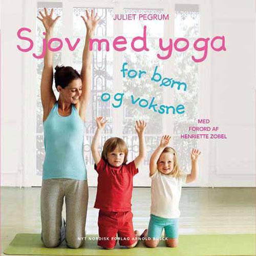 Sjov med yoga fra N/A fra bog & mystik