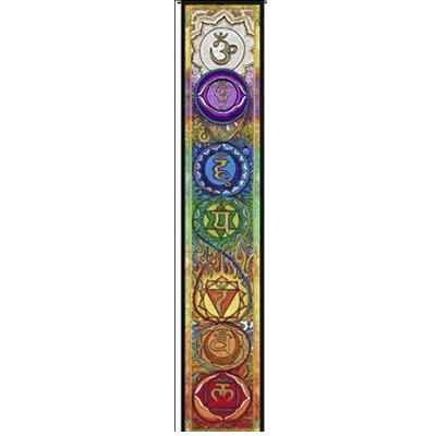 N/A Chakra banner fra bog & mystik