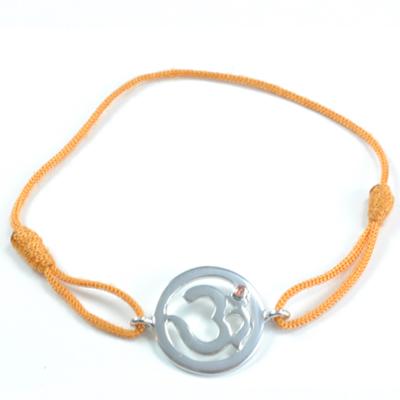 N/A – Chakra aum armbånd - 2 chakra - med citrin - 18mm fra bog & mystik