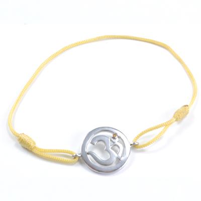 N/A – Chakra aum armbånd - 3 chakra - med safir - 18mm fra bog & mystik