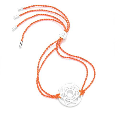 Chakra armbånd daisy - 2 chakra fra N/A fra bog & mystik