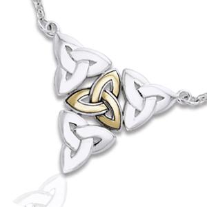 Halskæde med triquetra - treenighedssymbolet fra N/A på bog & mystik
