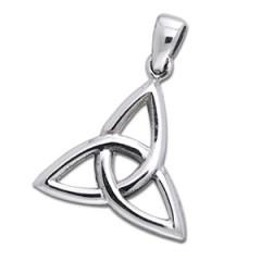 Vedhæng med triquetra - treenighedssymbolet - 25mm - u/kæde fra N/A på bog & mystik