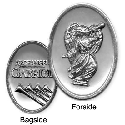 Ærkeenglen Gabriel polet/mønt - mini