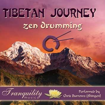 Tibetan journey zen drumming fra N/A på bog & mystik