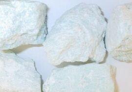 Amazonit rå - pr sten fra N/A fra bog & mystik