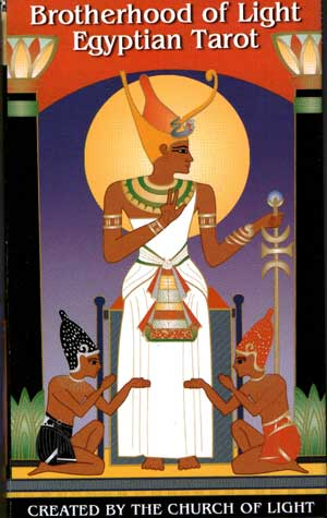 Image of   The Brotherhood of Light Egyptian Tarot