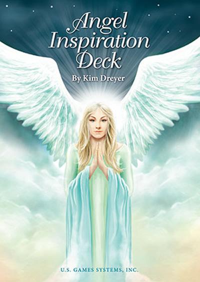 N/A Angel inspiration - englekort - m/dansk brugervejl fra bog & mystik