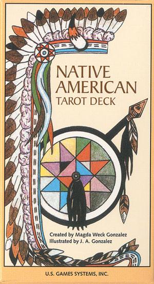 Native american tarot - tarotkort fra N/A fra bog & mystik