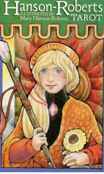 Hanson-roberts tarot fra N/A på bog & mystik