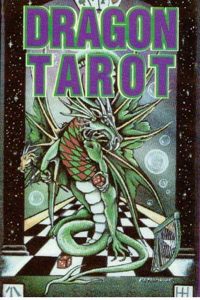 Dragon tarot - tarotkort fra N/A på bog & mystik