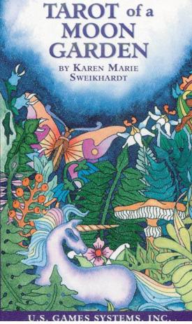 N/A – Tarot of a moon garden -tarotkort fra bog & mystik