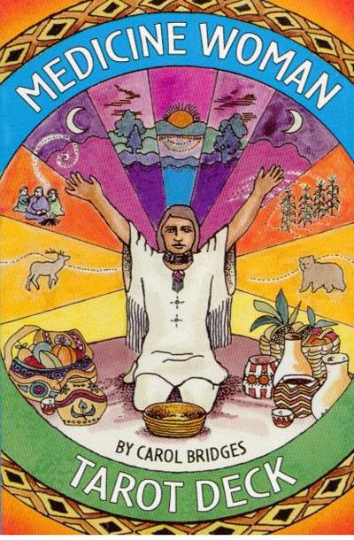 Medicine woman tarot - tarotkort fra N/A på bog & mystik