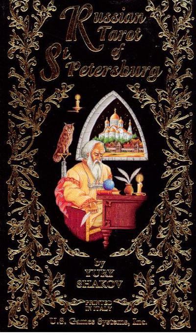 Russian Tarot of St. Petersburg -Tarotkort
