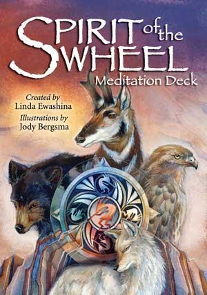N/A Spirit of the wheel - meditations kort fra bog & mystik