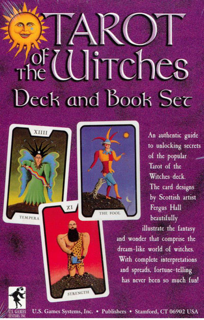 N/A Tarot of the witches - tarotkort - sæt på bog & mystik