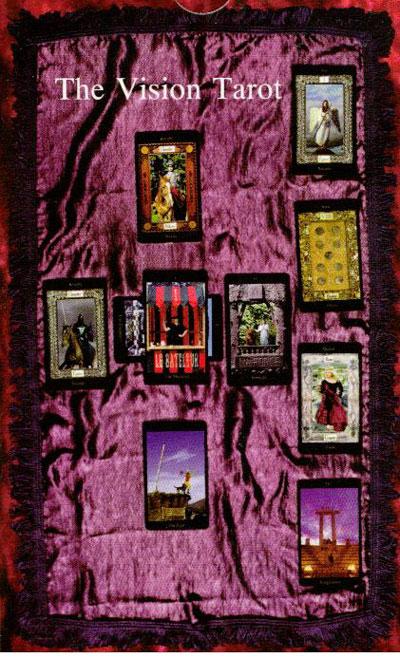 Vision tarot - tarotkort fra N/A fra bog & mystik