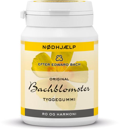 Dr bach tyggegummi - nødhjælp - ro og harmoni fra N/A fra bog & mystik