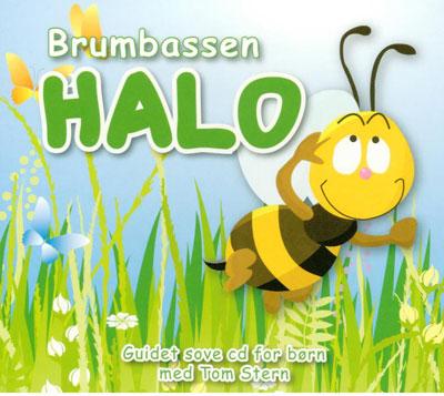 N/A Brumbassen halo - en guidet eventyr-meditation på bog & mystik