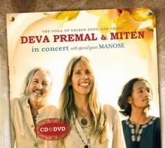 Deva premal & miten in concert cd & dvd fra N/A fra bog & mystik