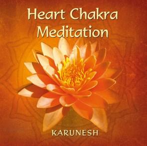 N/A Heart chakra meditation på bog & mystik