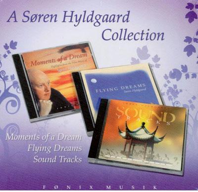 N/A Søren hyldgaard collection - 3 cdere fra bog & mystik