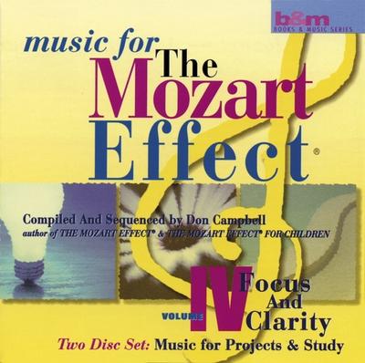Mozart effekten 4 - focus and clarity - dobbelt cd fra N/A fra bog & mystik
