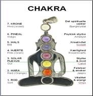 N/A Chakra sten sæt på bog & mystik