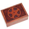 Tarotkort /Englekort æske med Pentagram