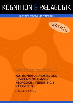 Positionering, professionsudvikling og dansen i pædagogisk vejledning og supervision - E-bog