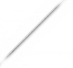 Slangehalskæde - 51cm - tykkelse 0,8mm - Halskæder