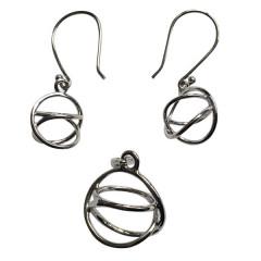 Akaija Bold + Akaija øreringe - u/kæde