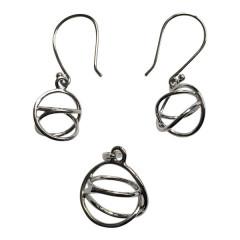 Akaija Normal + Akaija øreringe - u/kæde